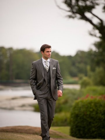 Mohair Grey Suit